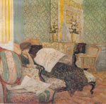Edouard Vuillard, The Chaise Longue Fine Art Reproduction Oil Painting
