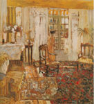Edouard Vuillard, Interior: Woman Before a Window Fine Art Reproduction Oil Painting
