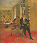 Edouard Vuillard, The Art Dealers Fine Art Reproduction Oil Painting