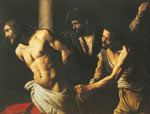 Michelangelo Caravaggio, Christ at the Column Fine Art Reproduction Oil Painting