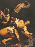 Michelangelo Caravaggio, The Crucifixion of St Peter Fine Art Reproduction Oil Painting