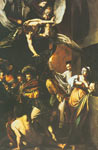 Michelangelo Caravaggio, The Seven Acts of Mercy Fine Art Reproduction Oil Painting