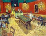 Vincent Van Gogh, The Night Cafe (Thick Impasto Paint) Fine Art Reproduction Oil Painting