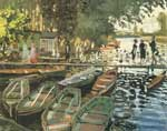 Claude Monet, Bathers at La Grenouillere Fine Art Reproduction Oil Painting