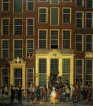 Isaak Ouwater, The Bookshop and Lottery Agency of Jan de Groot Fine Art Reproduction Oil Painting
