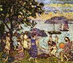 Maurice Prendergast, Crepuscule Fine Art Reproduction Oil Painting