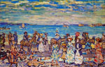 Maurice Prendergast, Opal Sea Fine Art Reproduction Oil Painting