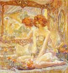 Robert Reid, Reflections Fine Art Reproduction Oil Painting