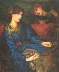 Dante Gabriel Rossetti, Mariana Fine Art Reproduction Oil Painting
