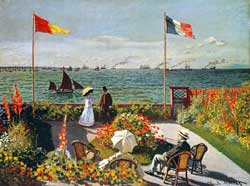 Monet Terrace at the Seaside